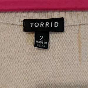 torrid Sweaters - EUC Torrid Skull Sweater Sz 2